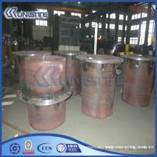 Tubo personalizado resistente ao desgaste grosso para a dragagem (USC7-002)