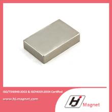 Aimant de NdFeB fort bloc Permanent pour l'industrie titrant N52