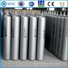 Réservoir à haute pression de CO2 de l'acier 40L sans couture (ISO9809-3)