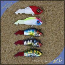 VBL016 8 cm, 7 g de haute qualité pêche attaquer lame leurre VIB leurre en plastique dur leurre de pêche