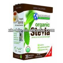 Suministro de edulcorante natural Stevia Extract Stevioside