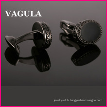 Boutons de manchettes VAGULA émail vente chaude (L51507)