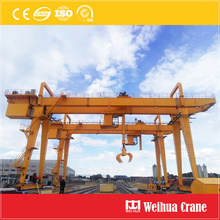 Timber Grab Gantry Crane