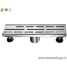 Tipo 304 dreno linear de aço inoxidável do chuveiro