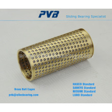 Cooper Material Ball Retainer Bearing, FZH Ball Retainer Bush Bearing,POM Bronze Ball Bearing Cages