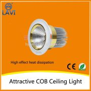 High efficiency 30w bedroom cob ceiling lights coffee/gold/platinum