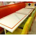 facile à nettoyer ensemble solide de table à manger de buffet de surface