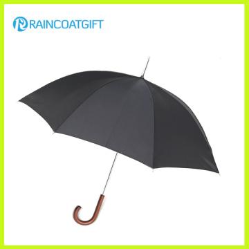 High Quality Anti Wind Wooden Straight Umbrella