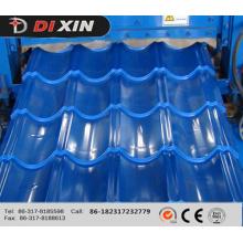 Dx 1100 Painel de telhado laminado de azulejo Roll formando máquina