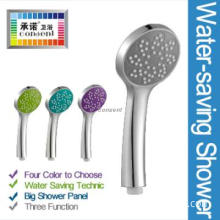 portable face clean sun flower chrome plating shower head