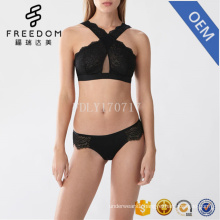bangladeshi hot sexy photo sexy underwear women sexy bra and panty new design padded bra high neck bralette