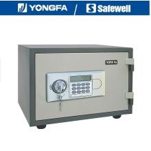 Yongfa 33cm altura Ald panel electrónico incombustible caja fuerte