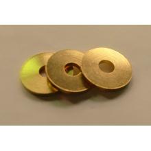 Estampado de piezas de arandela de cobre