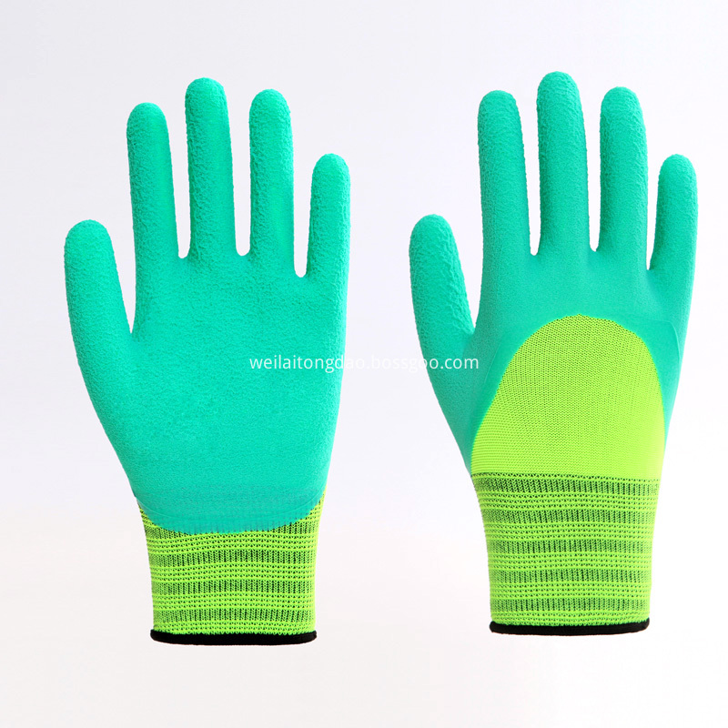 3/4 Coating Working Gloves