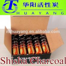 2014 hot sale shisha charcoal smokeless wood hookah charcoal