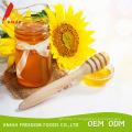 Miel de tournesol 1kg au détail en pot de verre