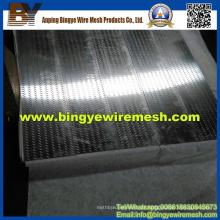 Metal perfurado de orifício oblongo de Bingye