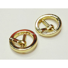 Fivela de Pin de Ouro de 10mm, Gadget Buckles for Shoes