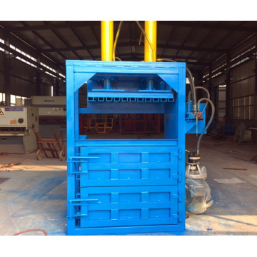 Empacadora hidráulica para residuos de papel