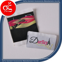 Etiqueta de ropa de marca personalizada / etiqueta tejida / etiqueta
