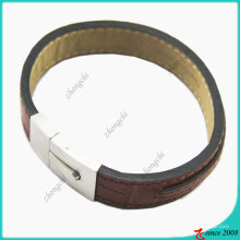 Brown Genuine Leather Bracelet (LB)