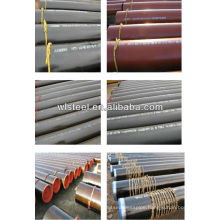 api5l psl1/2 X65 galvanized corrugated culvert pipe price