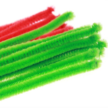 Décoration de Noël Chenille stems