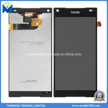 Мобильный телефон LCD для сони Xperia Z5 компактный ЖК-дисплей с сенсорным экраном Дигитайзер
