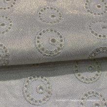white Embroidery Fabric cotton embroidery fabric with hole