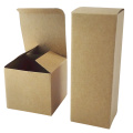 Custom different size small brown kraft gift paper box