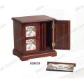 Новая деревянная коробка фото для украшения