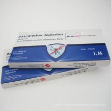 FDA Approved Artemisinin Lumefantrine Artemethe Injection 80mg/Ml
