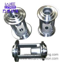 CNC-обрабатывающая часть алюминиевой фрезерной плиты