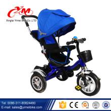 давить детей сила трехколесный велосипед игрушки/металлический каркас трехколесный велосипед для детей/оптовая продажа фабрики дешевые трицикл для ребенка