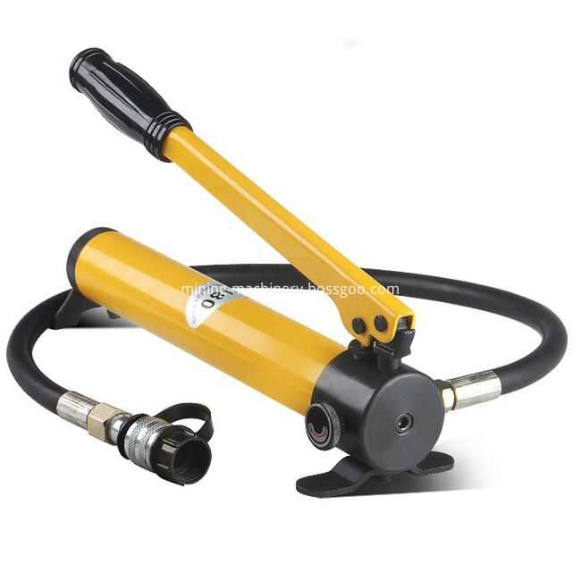 Small Hydraulic Hand Pump Man Power Pressure Instruments (2)