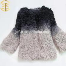 New Design Colorful Animal Fur Coat For Women And Girls Sheep Fur Coat