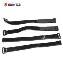 Fabrik direkt benutzerdefinierte Klettverschluss verstellbare Nylon Straps