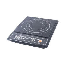 induction hob in  button control panel