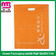 Bolso cortado con tintas no tejido material respetuoso del medio ambiente de alta calidad para el embalaje del paño al por mayor