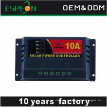 LDE affichage pas cher contrôleur de charge solaire 5a 10a