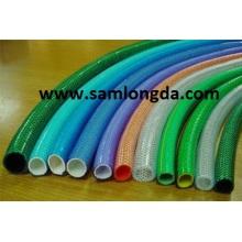 PVC refuerzan manguera / manguera del PVC / manguera de jardín del PVC