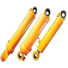 Palanca de válvula hidráulica de cilindro de efecto simple