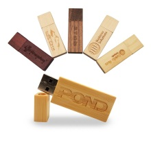 Custom Gift Box Bulk Wood Usb Flash Drive