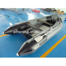 Corea CE barco de pesca inflable plegable del pvc material 8persons