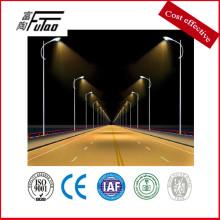 Galvanizado, carretera, eléctrico, acero, poste