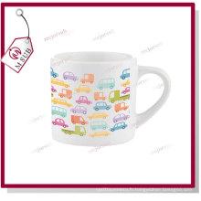 6oz Sublimation Mini tasse en céramique avec une impression de conception personnalisée
