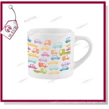 6oz Mini Sublimation Ceramic Mug with Personalized Design Print