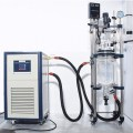 Chemical mixing tank glass reactor 50l