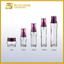 Glass jars and bottles sets