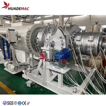 Máquina de moldeo por extrusión de tubos de plástico PP PE PVC